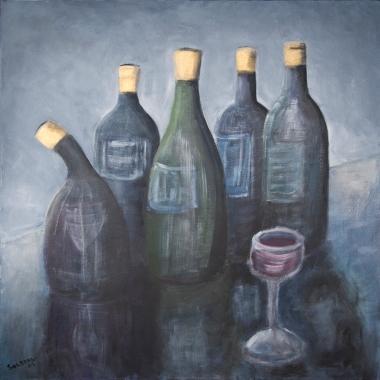 Vinflasker 2912 900
